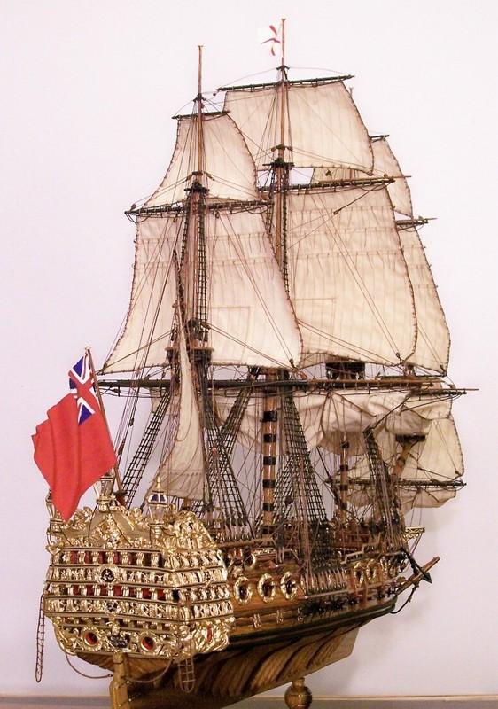 Фото - корабли - Макет боевого корабля