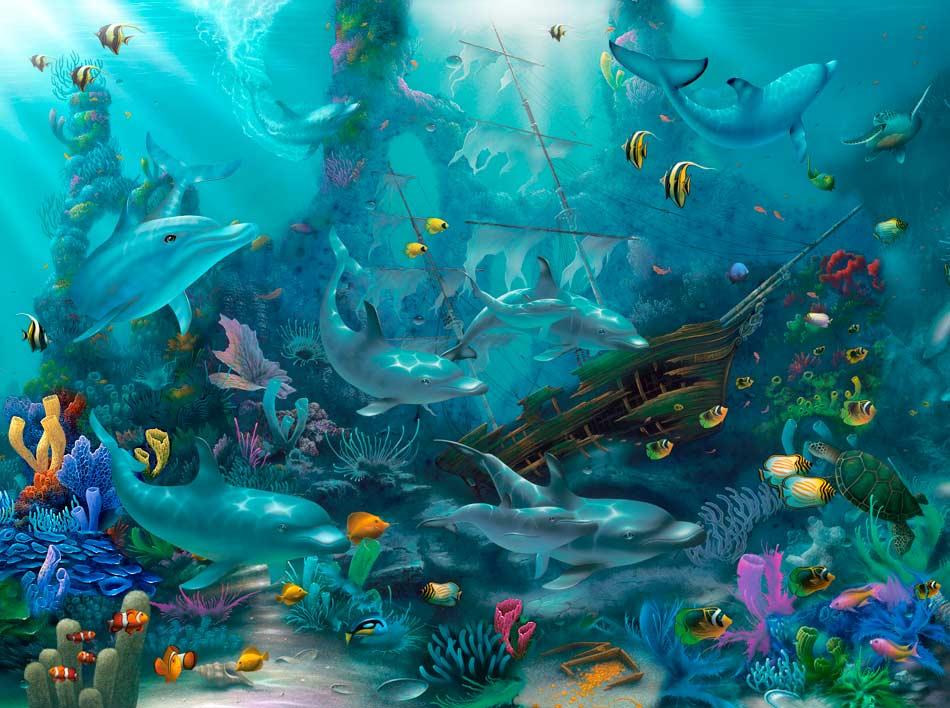 подводное царство картинки него входило, соответственно