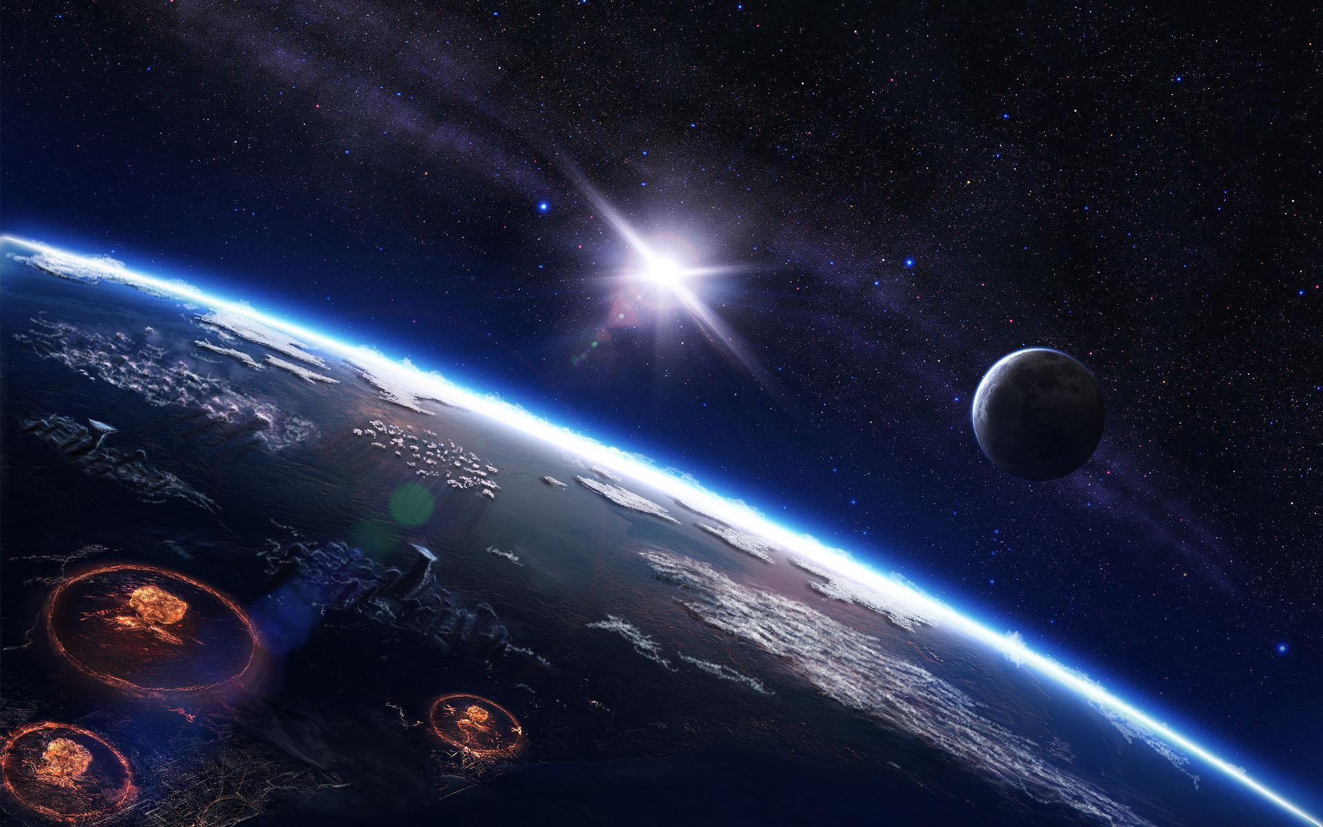 Обои планета замля космос картинки на рабочий стол на тему Космос - скачать  № 3557338  скачать
